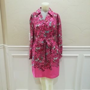Lilly Pulitzer Pink Silk Dress
